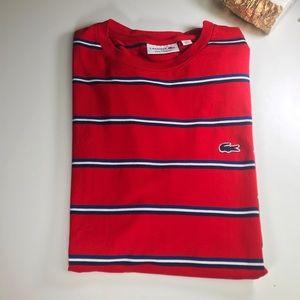 🐊 Men's Lacoste Striped Tee Shirt 🐊